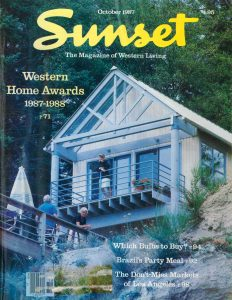 House featured in Sunset 1987